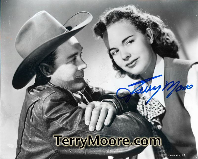 Terry Moore in Mighty Joe Young